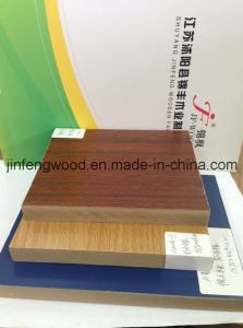 ISO 9001 Certificate Melamine MDF Wood Grain Color pictures & photos
