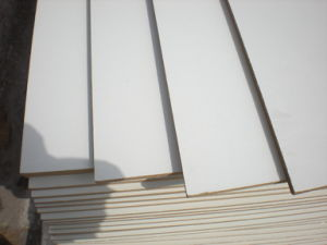 18mm Cherry Melamine MDF Board and Raw MDF Panel pictures & photos