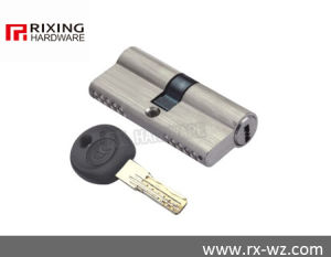 Double Open Brass Security Door Lock Cylinder Rx-24 pictures & photos