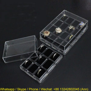Hot Selling Acrylic Ring Box pictures & photos
