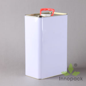 3L Small Open Chemical Square Metal Tin Can pictures & photos