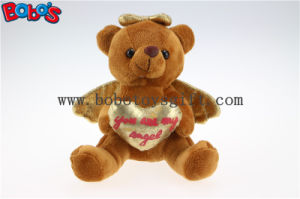 Wholesale Price Brown Plush Angel Bear Gift for Valentines Day Bos1114 pictures & photos