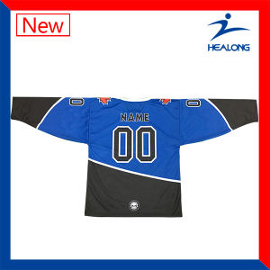 Design Your Team Own Any Logo Sublimation Ice Hockey Jerseys Uniforms pictures & photos