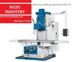 Bed-Type Milling Machine with CE Standard (MK715) pictures & photos
