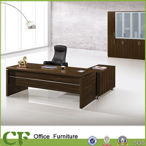 High Quality Executive Desk Melamine Boss Office Furniture Table (CF-10105) pictures & photos
