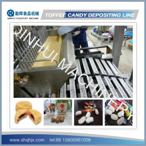 Full Automatic Depositing Type Toffee Candy Making Line pictures & photos