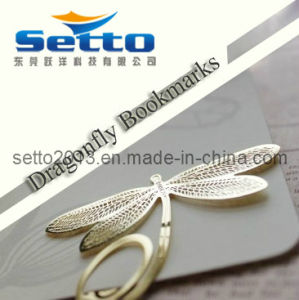 Promotional Brass Metal Bookmark Custom Design