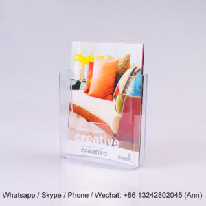 Acrylic Clear Sign Menu Brochure Holder pictures & photos