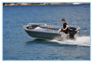 14FT 4.2m Aluminum Pleasure Dinghy Fishing Boat with Ce pictures & photos