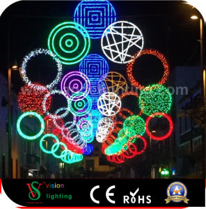 Commercial LED Motif Lights for Christmas Street Decoration pictures & photos