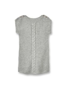 Girls Sleeveless Texrure and Cable Jumper - Sweater pictures & photos