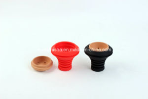 Silicone and Ceramics Shisha Head Hoohah Bowl pictures & photos