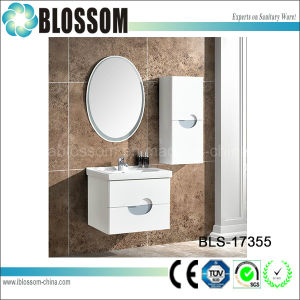 European Style Luxury Bathroom Cabinet with Side Cabinet (BLS-17355) pictures & photos