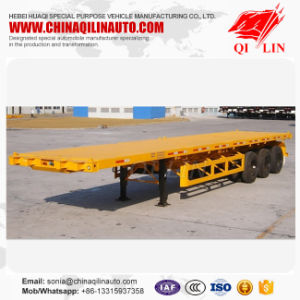 Flatbed Semi Trailer Dimensions Sales for Kenya pictures & photos
