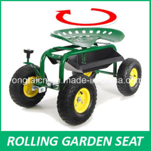 China Rolling Garden Work Seat Steerable with Pad China
