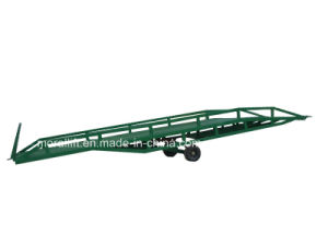Hydraulic Adjustable Warehouse Mobile Yard Ramp with CE pictures & photos
