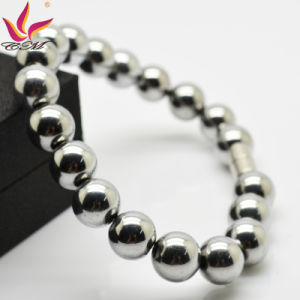Htb007A Silver Hematite Charm Magnetic Bracelet for Promotion Gifts pictures & photos