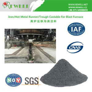 Blast furnace Iron Trough Castable pictures & photos