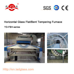 Liaoda (LAD) Horizontal Flat/Bend Glass Tempering Machine pictures & photos