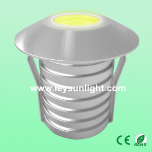 3W Mini Round LED Buried Light for Indoor and Outdoor