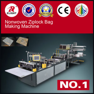 Non Woven Ziplock Bag Making Machine pictures & photos