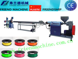 Plastic 3D Filament Printing Extrusion Line pictures & photos