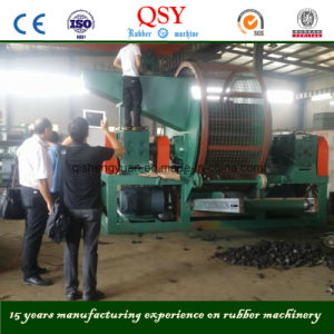 Whole Tyre Shredder Machine / Tyre Recycling Machinery pictures & photos