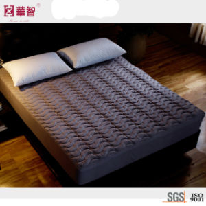 Polyester Fabric Quilted High Depth Mattress Cover pictures & photos