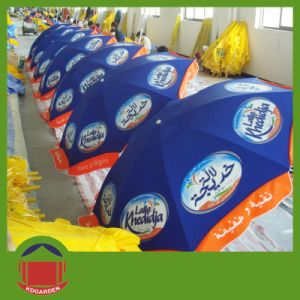 Cuctom Logo Printing Beach Umbrella pictures & photos