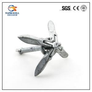 1.5kg Marine Yacht 316 Stainless Steel Boat Folding Grapnel Anchor pictures & photos