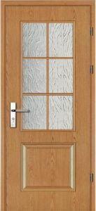 Wooden Glass Door (W9409)