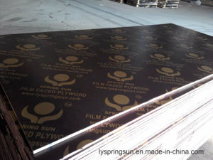 Film Faced Plywood for Construction Use, Formwork Plywood pictures & photos