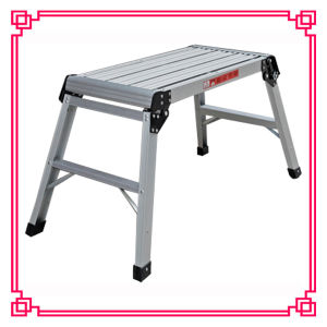 Aluminum Working Platform Ladder/Portable Ladder/Work Ladder pictures & photos