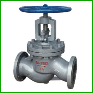 Cast Steel Globe Valve-J41h-Flange Connected Globe Valve pictures & photos