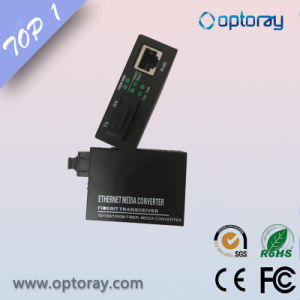 10/100m Fiber Media Converter with LFP Function pictures & photos