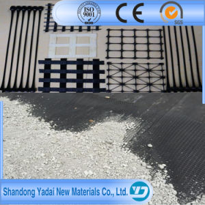 Geogrid Reinforcing Geosynthetic Materials Biaxial Geogrid pictures & photos