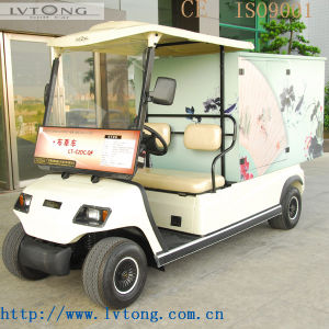 Battery Powered 2 Seats Restaurant Food Cart pictures & photos