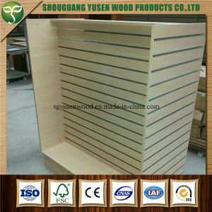 Melamine Slotted MDF Panels From China pictures & photos