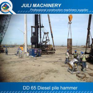 Dd 65 Diesel Hammer. Diesel Pile Hammer. Piling Hammer