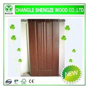 Veneer Moulded Door Skin/ HDF Moulded Door Skin pictures & photos