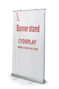 Advertising Banner Stand Double-Sides Aluminum Roll up pictures & photos