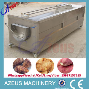 500kg/H Potato Washing Machine (remove mud and peeler)