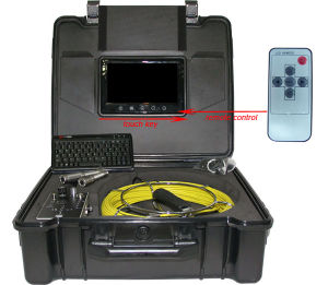 Built-in 512 Hz Transmitter Endoscope Pipe Camera Inspection pictures & photos