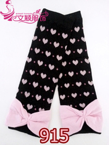 Girl Leg Warmer with Ruffles/Lace Leg Warmer (LC-LW-915)