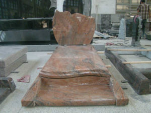 Indian Juparana Granite for Tombstone & Gravestone pictures & photos