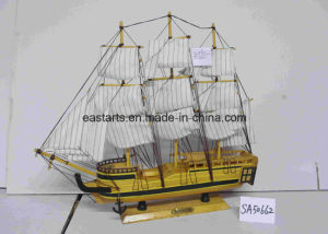 Wooden Toy Ship Model Sailing Boat Gifts