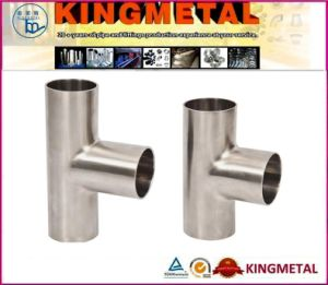 3A Stainless Steel Sanitary Tee pictures & photos