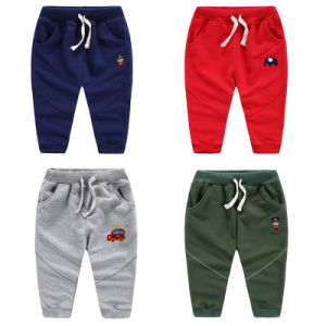 High Quality Children′s Cartoon Cotton Sports Pants pictures & photos