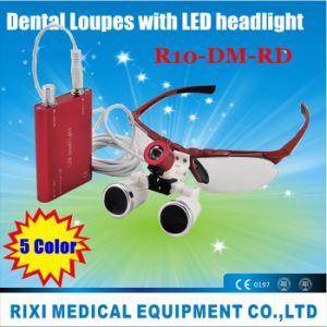 LED Light Dental Magnifier /Dental Loupes 5 Color