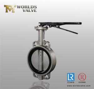 Stainless Steel Wafer Type Butterfly Valve (D37A1X-10/16) pictures & photos
